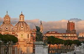l-forum-evening-clouds-rome