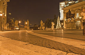 l night p capitoline rome Christmas In Rome
