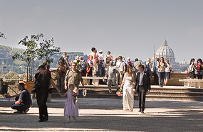 A wedding in Rome