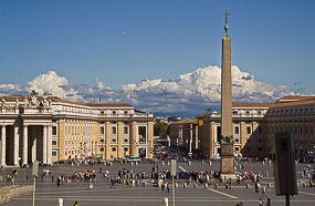 View of St Peter's Square