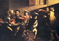 A Caravaggio painting