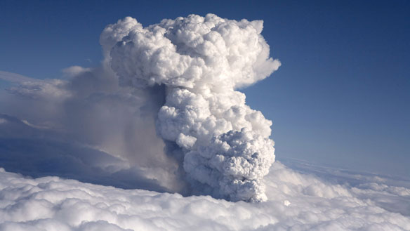 Volcanic Ash Cloud Iceland