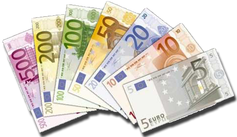 Gallery For > Italian Euro Bills