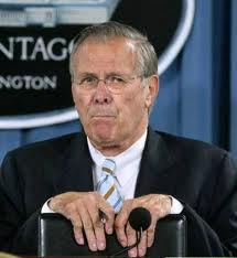 rumsfeld Blogging, Berlusconi, Fabio Chuisi and Gagging