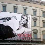 Scaffolding with Billboard in Italy